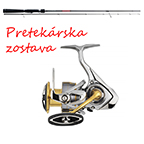 Pretekárska zostava Profesional Daiwa & Major Craft