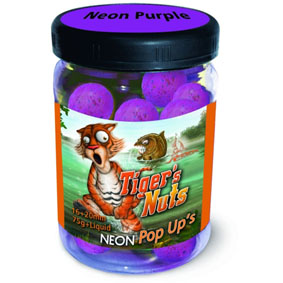 Boilies Radical Pop Up Neon Tiger´s Nuts 16+20mm