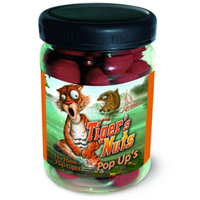 Boilies Radical plavačky Tiger´s Nuts, 16+20mm