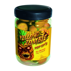 Boilies Radical Pop Up Yellow Zombie - ananásové boilies
