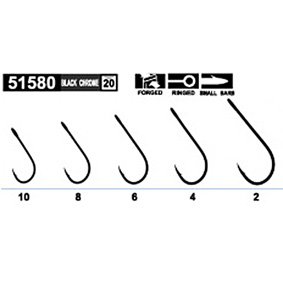 Háčiky Owner Single hook S-59