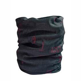 1693083af Tubus, kukla multifunkčná šatka Cliff, čierna