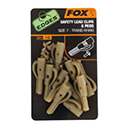 Klip na olovo Fox EDGES™ Lead Clip + Pegs
