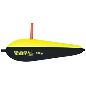 Plavák Black Cat Outrigger 100g