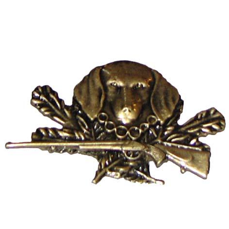 6fb94e9a9 Poľovnícky odznak - Pes-hlava