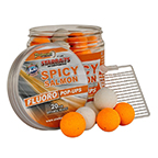 Boilies StarBaits Fluo Pop-Up Spicy Salmon 20mm, 80g
