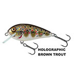 Vobler Salmo Butcher Sinking 5, Holo Brown Trout