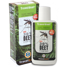 Repelent TravelSafe  Traveldeet 30% gel