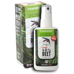 Repelent TravelSafe Traveldeet 40% Sprej