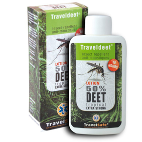 Repelent TravelSafe Traveldeet 50% lotion