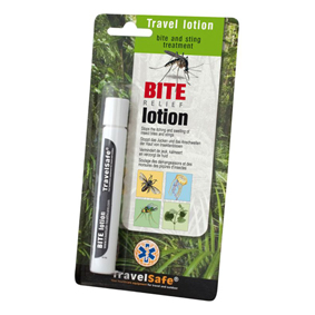Tlmiace svrbenie, TravelSafe Bite Relief lotion
